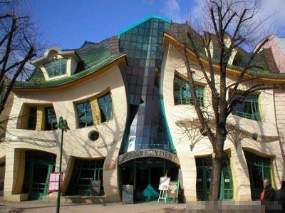 世界上十個奇奇怪怪的建筑,你見過嗎?