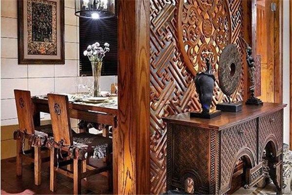 中式餐厅装修后悔没早点看到