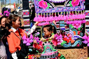 传承千年的彝族刺绣促农民增收