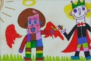 不会绘画的自闭症孩子 也期盼阳光的未来 2017-09-01