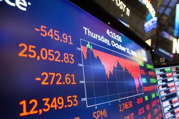 纽约股市三大股指大幅下跌