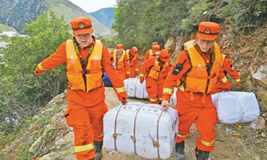 应急管理部向四川、西藏紧急调拨中央救灾物资