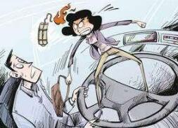 因对刷卡金额有异议 女子抢公交车司机方向盘被拘