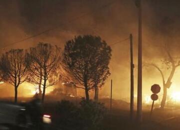 希腊大火致87死 民众愤怒质疑政府救灾不力