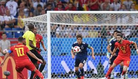 两替补奇兵挽救红魔 比利时3:2逆转日本晋级八强