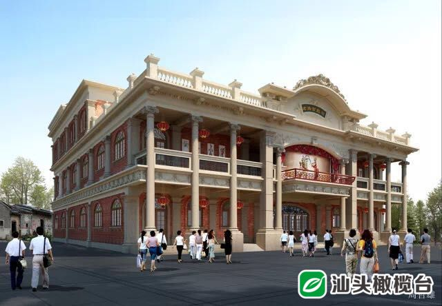汕头本土建筑设计师再现老妈宫戏台,但设计时竟连基本老图片都没有