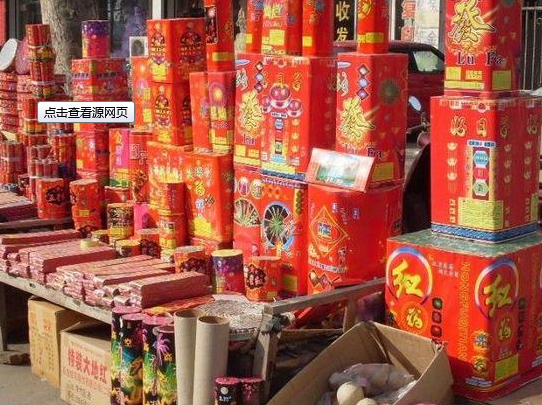 中国抽查烟花爆竹 不合格发现率达15%