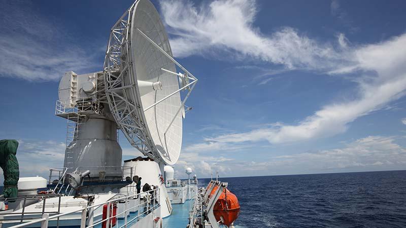 远望3号船赴太平洋执行海上测控任务