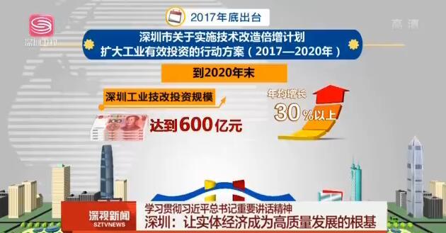 深圳:让实体经济成为高质量发展的根基